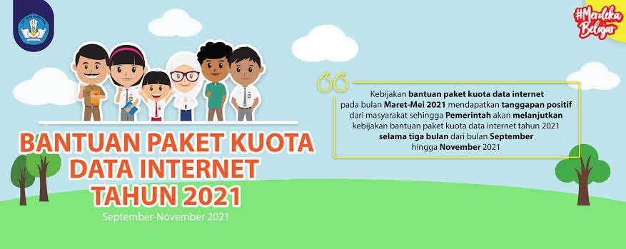 Kemendikbudristek Salurkan Bantuan Kuota Data Internet ke 24,4 juta Penerima